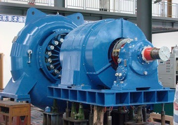 Horizontal-Francis-Turbine-Unit